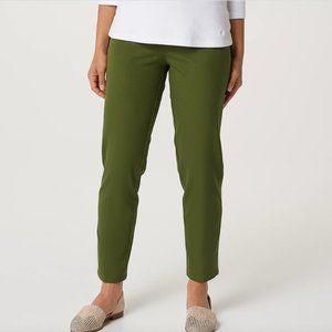Isaac Mizrahi 24/7 Stretch Classic Ankle Pants